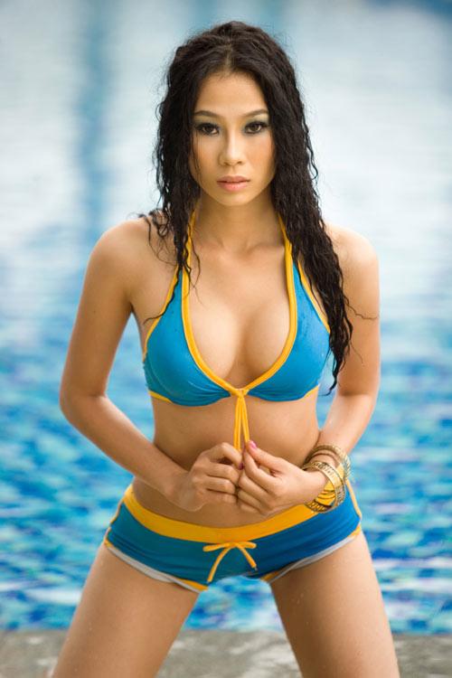 Người mẫu Hồng Hà bị bắt trong đương dây người mẫu bán dâm 1.000 USD