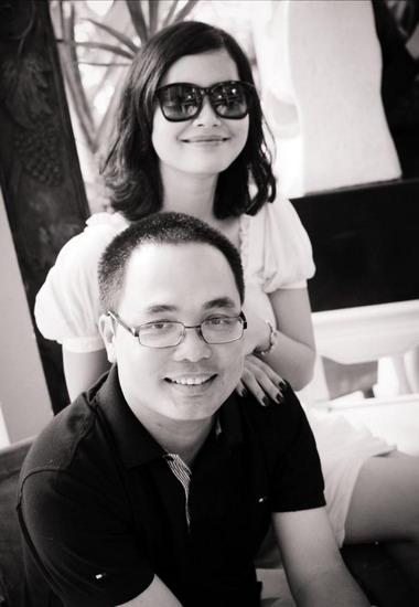 Đạo diễn Phan Đăng Di bên nhà sản xuất kiêm diễn viên nữ chính Đỗ Thị Hải Yến.