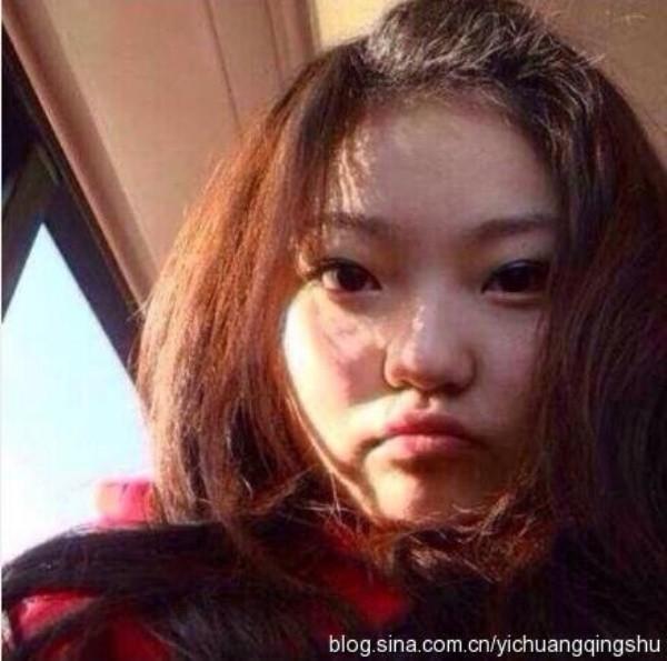 Châu Dương Thanh sinh năm 1988 tại Bắc Kinh (Trung Quốc). Cô được chú ý nhờ gương mặt rất giống Angela Baby. Tuy nhiên, hình ảnh quá khứ của cô lại là câu chuyện khác.