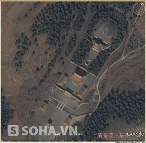 Ảnh vệ tinh Cảng lăng của Khang Hy