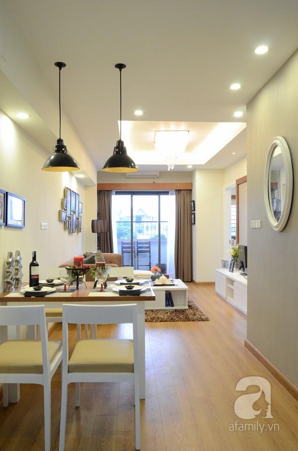 Căn hộ nhỏ 59m² có không gian đáng sống cho gia đình 4 người ở Hà Nội 2