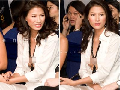 Chiếc áo lộ hàng của Trang Trần, Tin tức trong ngày, THỜI TRANG, NGƯỜI MẪU, VIỆT NAM, VÁY ÁO, ÁO SƠ MI, HỞ NGỰC, LỘ HÀNG