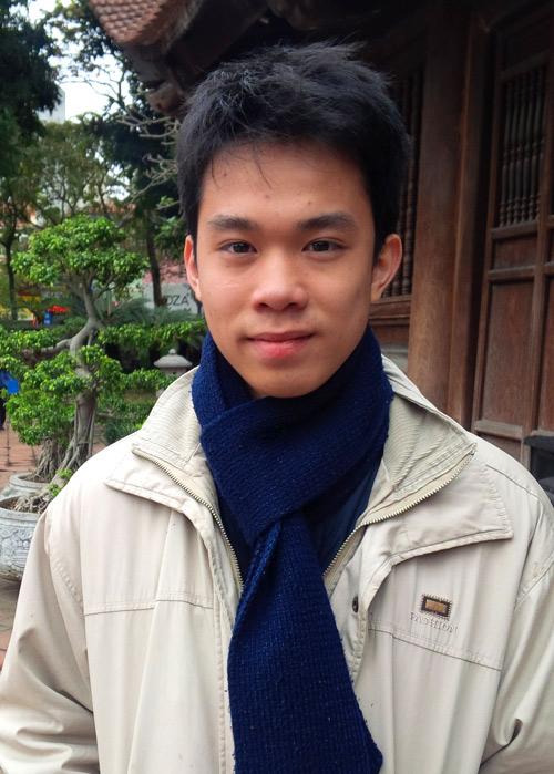 Ông đồ trẻ Nguyễn Tô Tâm An
