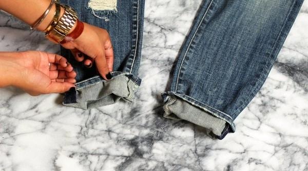 Tường tận cách xắn gấu hay ho cho những kiểu quần jeans quen thuộc 30
