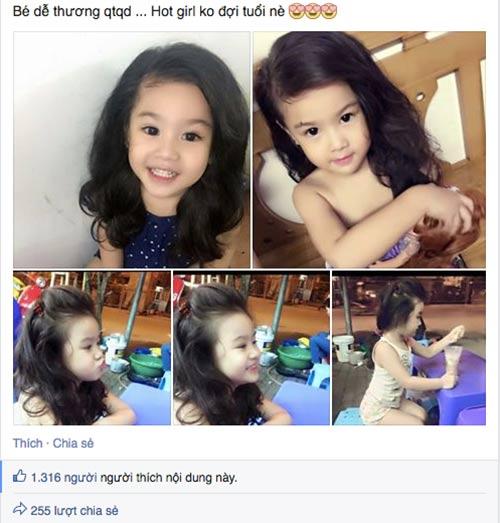 """Loạt bé gái Việt """"nổi rần rần"""" nhờ xinh hơn các hotgirl đàn chị - 1"""