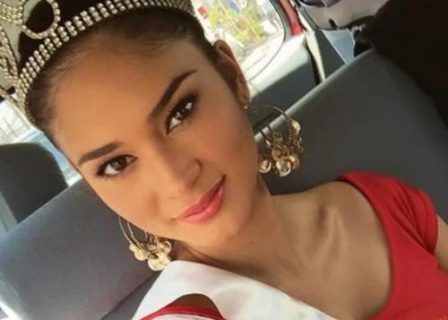 Hoa hậu Hoàn vũ người Đức gốc Philippines Pia Wurtzbach,