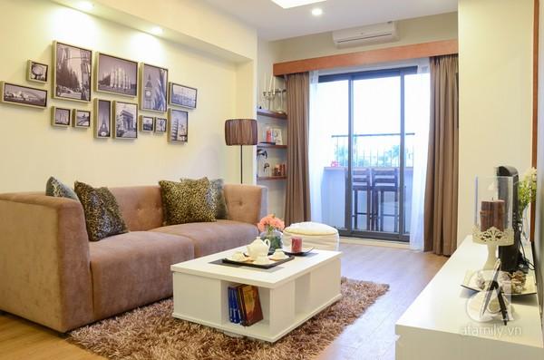 Căn hộ nhỏ 59m² có không gian đáng sống cho gia đình 4 người ở Hà Nội 3