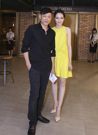 Ngô Quang Hải rất ít khi xuất hiện cùng vợ tại các sự kiện. Trong ảnh: lần hiếm hoi hai vợ chồng