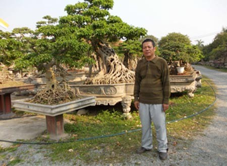 Cơ ngơi trị giá cả trăm tỷ tại thành phố Vĩnh Yên của đại gia Phiến
