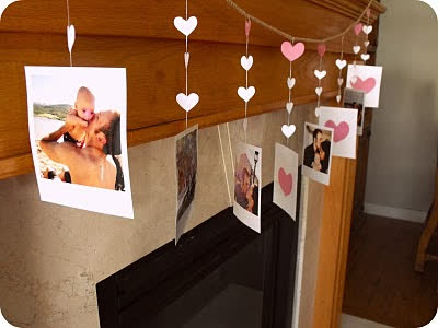 Những biểu tượng tình yêu được sử dụng một cách sáng tạo trong trang trí nhà ngày Valentine