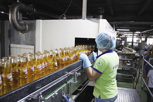 Dây chuyền sản xuất của Cty Tân Hiệp Phát
