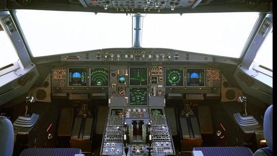 Buống lái một chiếc Airbus A320. Ảnh: Sydney Morning Herald