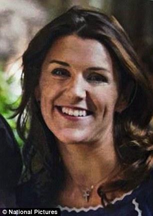 Cô Sarah Johnson, luật sư 36 tuổi. Ảnh: National Pictures