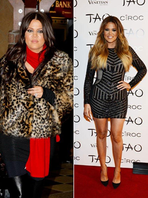 Em gái Kim, Khloe Kardashian, cũng thường xuyên bị chê béo.