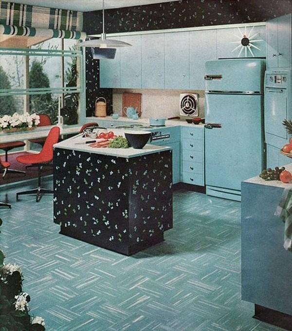 Chiêm ngưỡng các căn bếp tuyệt đẹp từ những thập niên 80 trở về trước 4