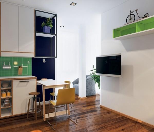 Ngắm 3 căn hộ nhỏ diện tích dưới 33m² nhưng không có gì để chê 4