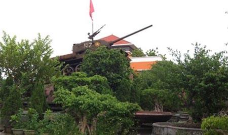 Khu vườn đại gia Phiến