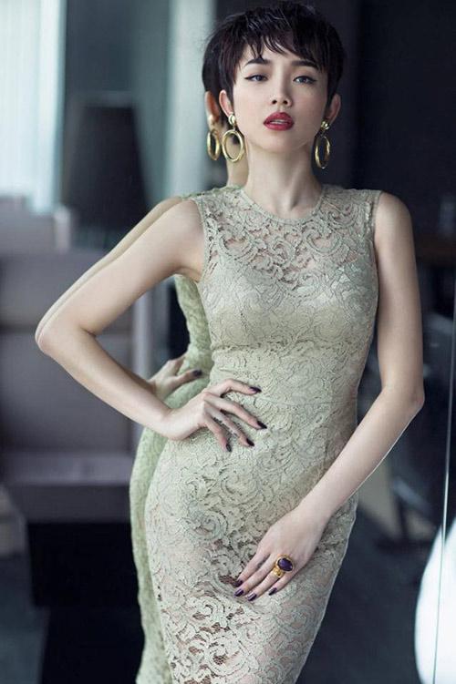 Sao Việt: muốn gợi cảm tìm ngay váy xuyên thấu! - 15