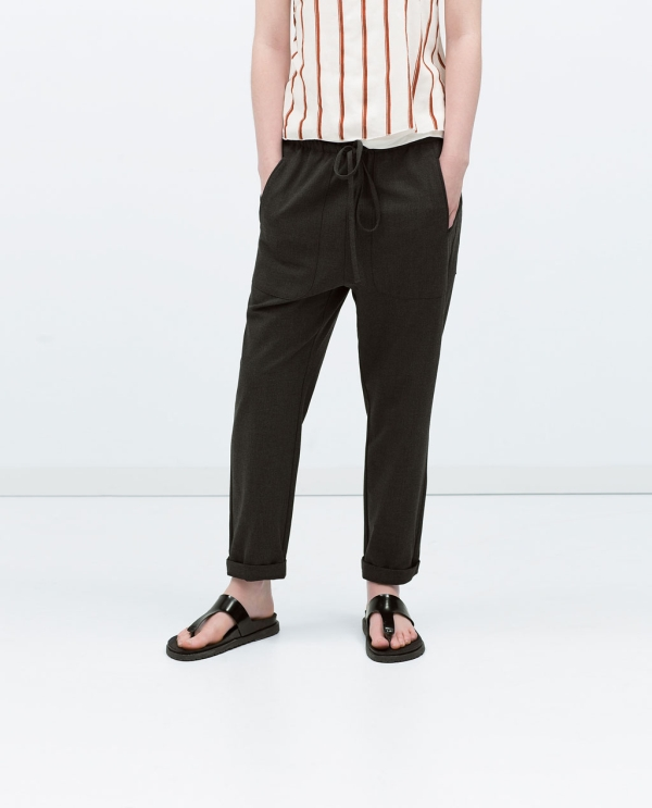 Image 2 of BAGGY TROUSERS from Zara