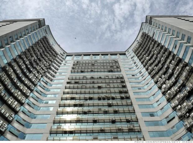 Một tòa nhà tại Phúc Châu, Trung Quốc với hơn 500 chiếc điều hòa không khí
