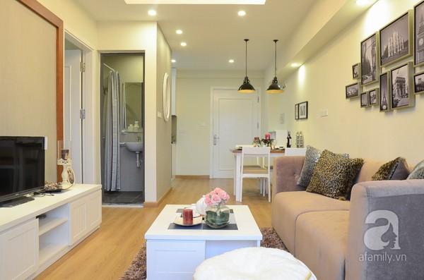 Căn hộ nhỏ 59m² có không gian đáng sống cho gia đình 4 người ở Hà Nội 5