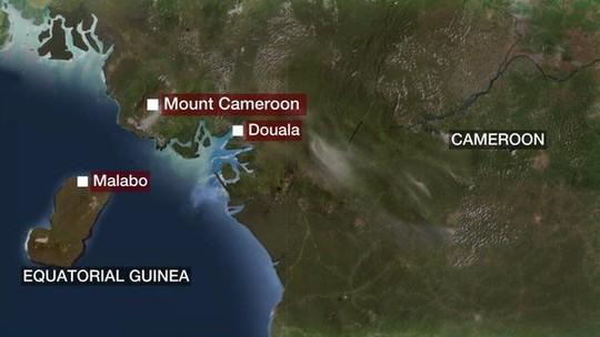 Máy bay suýt lao vào nùi Cameroon. Nguồn: BBC