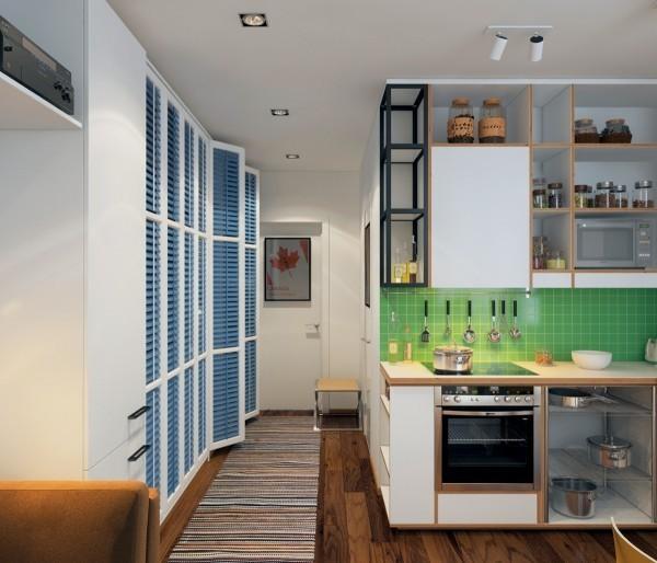 Ngắm 3 căn hộ nhỏ diện tích dưới 33m² nhưng không có gì để chê 5