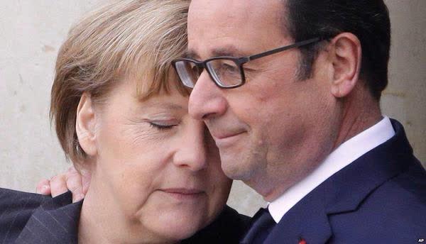Biển người tuần hành tại Pháp phản đối tấn công khủng bố