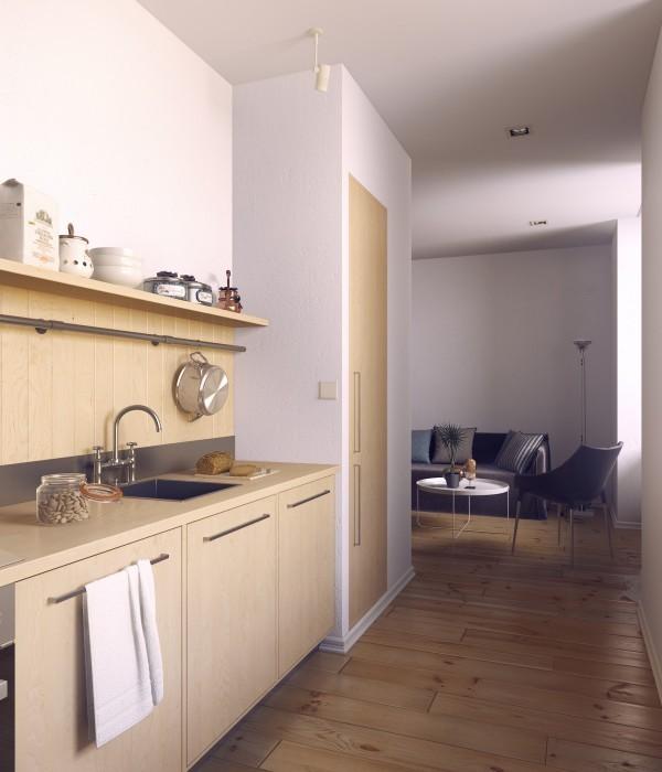 Ngắm 3 căn hộ nhỏ diện tích dưới 33m² nhưng không có gì để chê 7