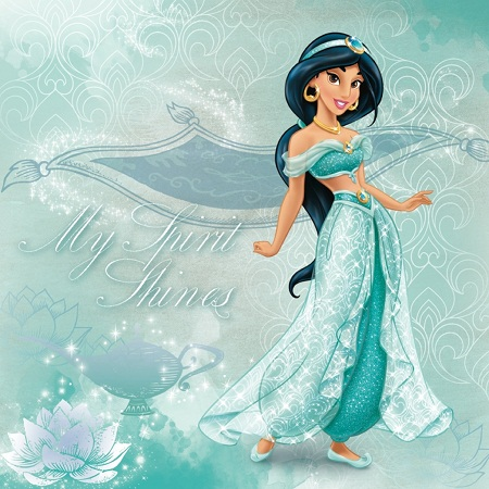 """Chiếc váy gợi nhớ tới nàng Jasmine trong """"Aladdin""""."""