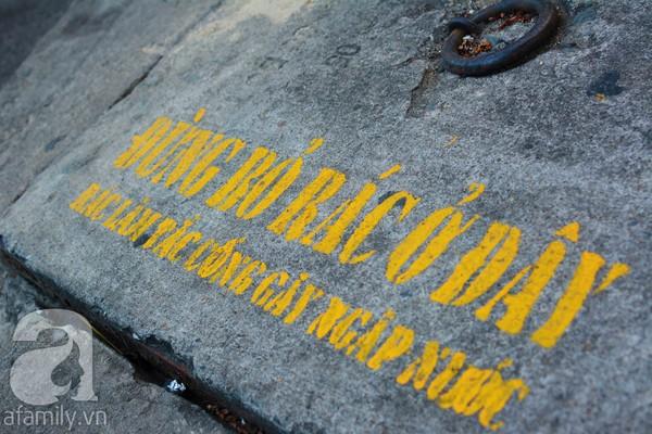 biển cấm vứt rác nơi công cộng 1