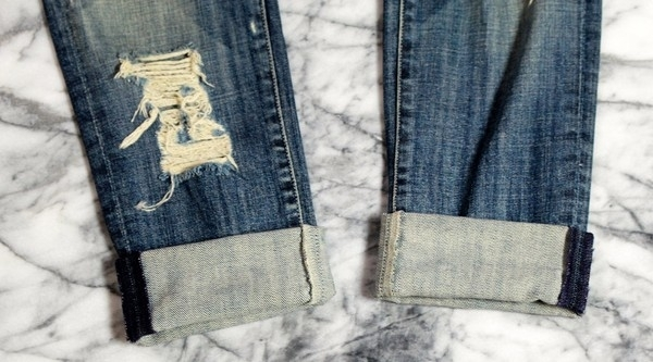 Tường tận cách xắn gấu hay ho cho những kiểu quần jeans quen thuộc 12