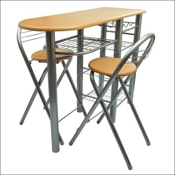 bàn ghế cho nhà chật