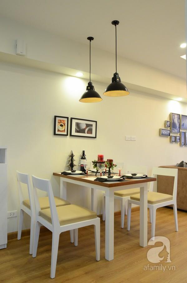 Căn hộ nhỏ 59m² có không gian đáng sống cho gia đình 4 người ở Hà Nội 9