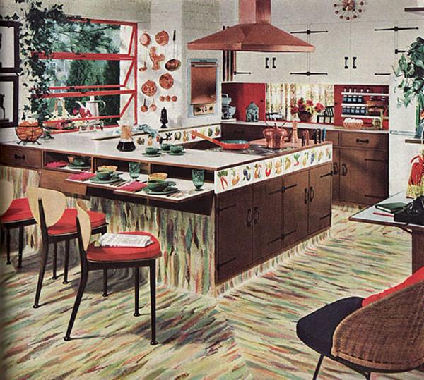 Chiêm ngưỡng các căn bếp tuyệt đẹp từ những thập niên 80 trở về trước 9
