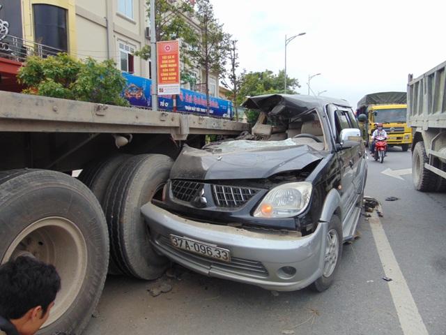 Vụ tai nạn đặc biệt nghiêm trọng làm 3 người chết