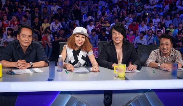 Các giám khảo trong đêm Gala 2