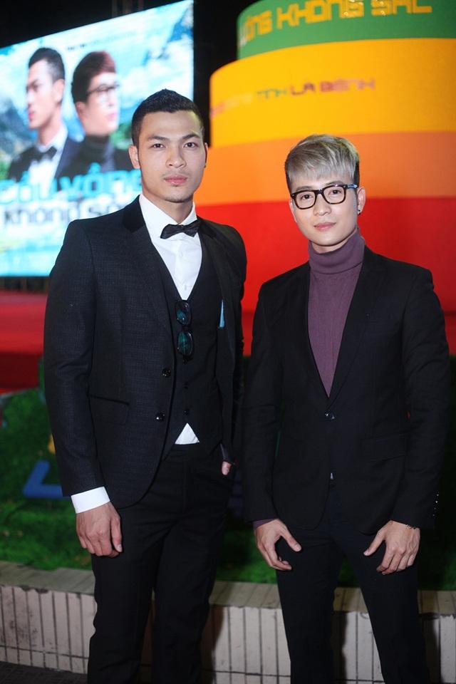 MC Thanh Tú và Vũ Tuấn Việt, 2 nhân vật chính của phim.