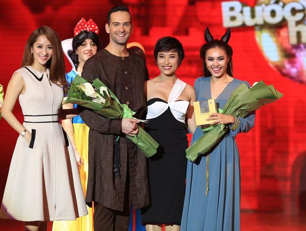 Tiết mục của cô được giám khảo Hồng Việt đánh giá là hoàn hảo nhất trong đêm diễn. Kết quả, cô nhận được số điểm cao nhất trong đêm, với 39 điểm.