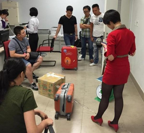 Hàng hàng không Vietjet cho rằng tình trạng mất đồ diễn ra ngày càng nhiều ở sân bay Quốc tế Nội Bài.