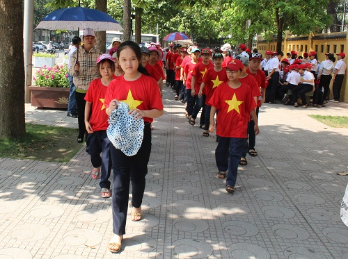 Các học sinh bày tỏ ước muốn được tham gia nhiều hoạt động hè bổ ích và lý thú hơn nữa