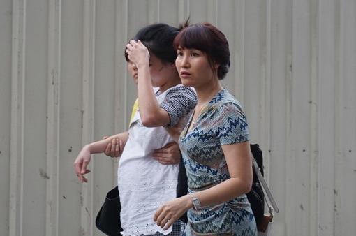 Vụ tai nạn khiến một phụ nữ đang mang bầu phải đi viện, một thanh niên khác bị thương nhẹ