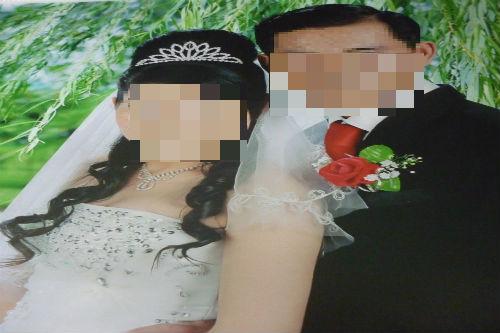 Hình ảnh Quý bên người vợ mớii.