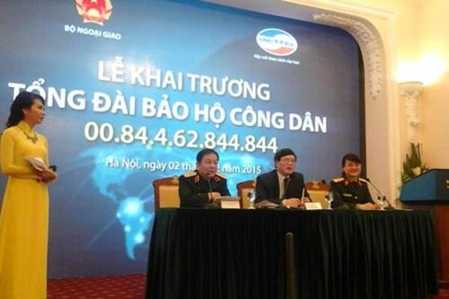 Số điện thoại hỗ trợ công dân ở nước ngoài