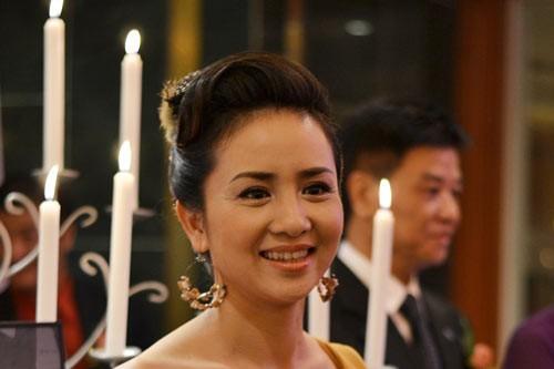 Dù đã ở ngưỡng ngấp ngé 40 tuổi nhưng vẻ xinh đẹp của Thúy Hiền không thua bất kỳ một diễn viên nào