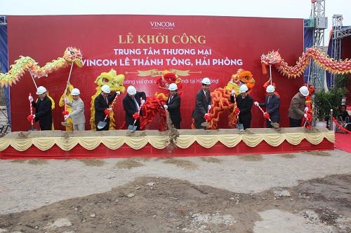 Vincom Lê Thánh Tông hứa hẹn sẽ trở thành điểm vui chơi, mua sắm hấp dẫn mới ở Hải Phòng.