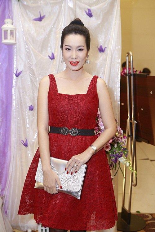Á hậu Trịnh Kim Chi mang bầu