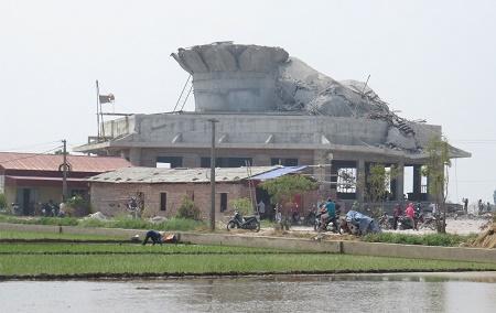 Ngôi chùa được tọa lạc giữa cánh đồng thôn Tô Xuyên, xã An Mỹ, huyện Quỳnh Phụ, Thái bình