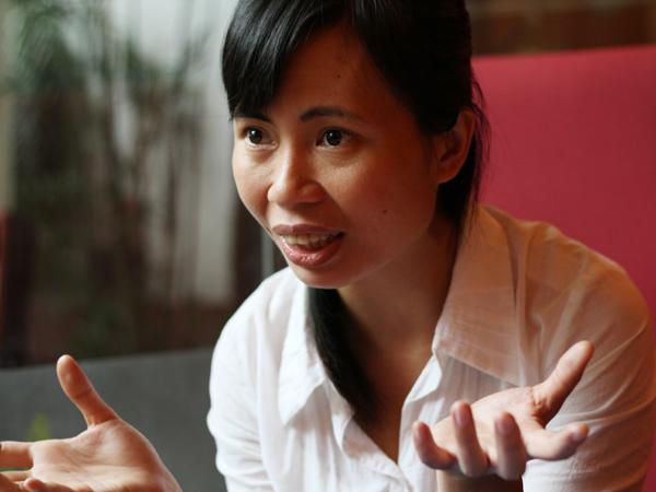 Nhà văn Trang Hạ