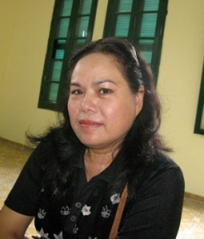 Bà Trịnh Thị Thanh Nhã- đại diện ủy quyền của đạo diễn, biên kịch Lê Phương